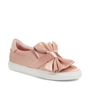 Silk Bow Sneakers